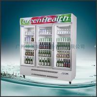 China Stainless Steel Upright Commercial Display Freezer Tecumseh Compressor -25°C  3 Doors wholesale