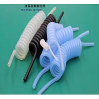 China Spiral Flexible Silicone Tubing Corrosion Resistant For Automatic Tourniquet System wholesale