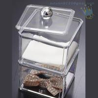 China CB (63) crystal acrylic makeup organizer wholesale