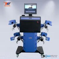 China Car 3D Wheel Aligner Automatic Machine High Precision With Adjustable Camera Beam wholesale