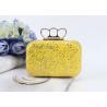 China Fashion product ladies mini handbags pu glitter leather clutch bags evening bag wholesale