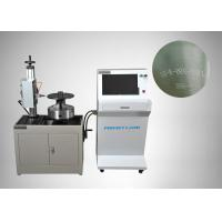 China High Accuracy Dot Peen Marking Equipment For Cylindrical Products on sale