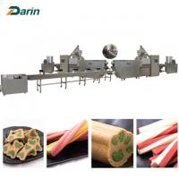 China Single screw Dog Food Extruder dog pet chews  customizable Voltage wholesale