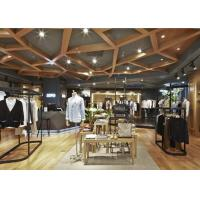 Quality Casual Style Men Clothing Store Fixtures / Store Display Furniture For Retail Shop for sale