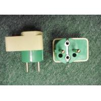 Quality 10A 16A 250V two round pins Egypt plug AL3117 transformer plugs electric plugs worldwide for sale