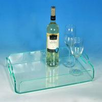 China Pastry Acrylic Display StandsCustom Food Display TraysFor Restaurant High Mechanical Strenth wholesale