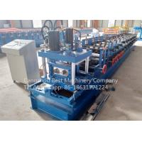 China 80 - 300 Mm C Purlin Roll Forming Machine Manual Change Size Energy Efficiency wholesale