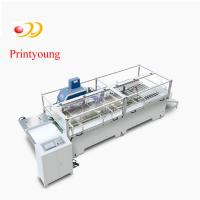 China Kraft Semi - Automatic Paper Bag Making Machine / Hand Bag Making Machine By The Roll on sale