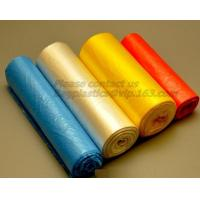 China Trash Can Liners Bag Garbage bags on Perforated Roll,Office Bathrooms Business Home Commercial and industrial needs PACK on sale