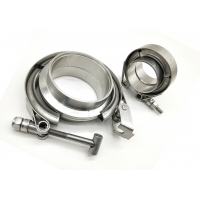 """China 300 Series Odm Stainless Steel Exhaust Clamps 1.5"""" - 6"""" wholesale"""