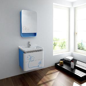 China Wood Bathroom Cabinet / Solid Wood Bathroom Vanity MJ-197B wholesale