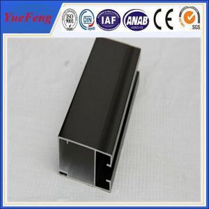 China anodised aluminium profiles for door window aluminium frame wholesale