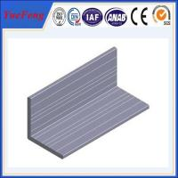 China High quality Aluminum angle with ISO9001:2008 certificate wholesale