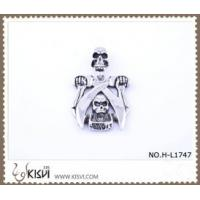 Quality Hot sell 316 Stainless Steel Death's-Head Pendant H-L1747 for sale