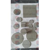 China Microns Porous SUS304 316L SS Sintered Stainless Steel Filter Disc wholesale