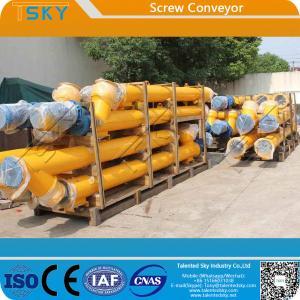China Cement Fly Ash Mineral Powder FDA Screw Conveyor Machine wholesale