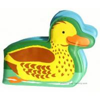 China Yellow Duck Baby Bath Books Water Resistant 16x13cm Dimension KMT-BBB07 wholesale