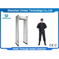 China 6/12/18 Zone Security Guard Metal Detector Body Scanner For Safely Detection wholesale