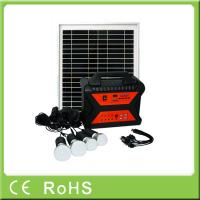 China 10W 18V portable off grid mini light solar energy systems for home with radio wholesale