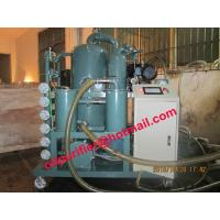 China double stage vacuum machines transformer oil purifier/transformer Oil cleaning plant PLC wholesale