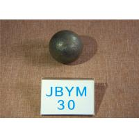 China High Impact Value Forged Grinding Media Steel Balls / Hot Rolling Steel Ball 30mm wholesale