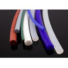 China Industrial Grade Translucent Silicone Tube Extrusion , Silicone Profile / Cord / Seal wholesale