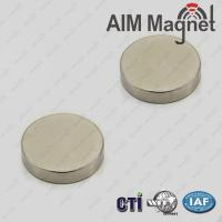 China 20mm dia x 2mm thick N52 Highest Grade Ndfeb Magnets on sale