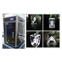 800W 3D Glass Crystal Laser Engraving Machine , Sub Surface Engraving Equipment