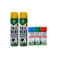 China Animal Tail Aerosol Spray Paint No Harm To Skin For Cattle / Sheep / Livestock / Marking wholesale