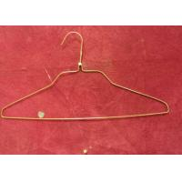 China Fashion White Clothes Wire Hangers 1.8mm - 2.0mm Thickness For Supermarket wholesale