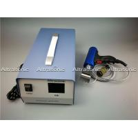 China Gun Type / Cylinder Type 35 Khz Portable Ultrasonic Spot Welder for Filter Fabric wholesale