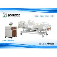 China Motorized Full Electric Hospital Beds With Side Rails For Paralyzed Patients wholesale