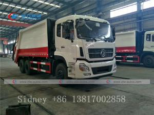 China Dongfeng Kinland 6X4 18-20cbm Garbage Compactor Truck Compression garbage truck wholesale