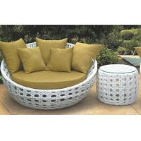 China Outdoor Furniture round daybed garden daybed furniture wholesale