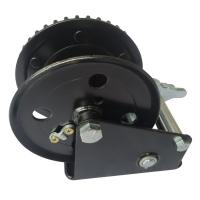 China 545kg Mini Hand Crank Winch , Heavy Duty Hand Winch For Boat Towing / Poultry Farms wholesale