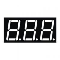 Buy cheap 0.56 Inch Red Triple Digit 7 Segment Numeric Display Low Current Operation from wholesalers