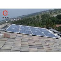 Quality 3KW Solar Power System High Efficiency With Polycrystalline Framed Solar Panel for sale