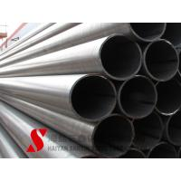 China Galvanized Welded Steel Tube 10.2 - 2540mm Outer Diameter For Fluid wholesale
