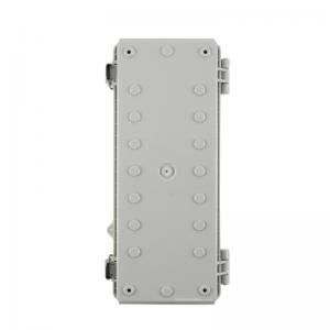 China Latch Hinged Electrical Enclosure IP65 With Key Lock 260x110x75mm wholesale
