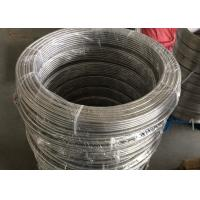 China 20ft Length Stainless Steel Coiled Tubing High Tensile Strength For Textile Machinery wholesale