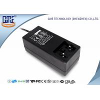 China Black Antijamming 36W Switching Power Adapter With Coil , 87.4% Efficiency wholesale