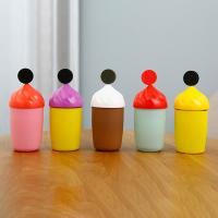 China 300ml Cute Glass Water Bottle With Silicone Protective Sleeve For Children Drinking wholesale