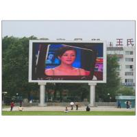 China IP65 Waterproof RGB Multi Color LED Panel Display , 10 Meters Min Viewing Distance LED Video Panel wholesale