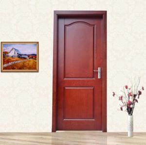 China Contemporary Veneer Interior Doors , Swing Wood Veneer Interior Doors wholesale