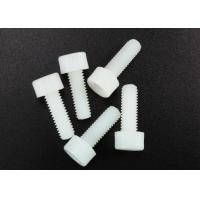 China White Nylon Hexagon Socket Head Plastic Cap Screw M3 Standard DIN 912 Fastener wholesale