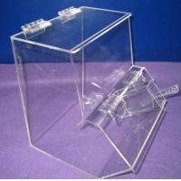 China Countertop Jelly Beans Acrylic Display Case Waterproof with Lids wholesale