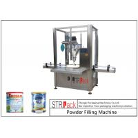 China Single Head Milk Powder Packing MachineHigh Precision For Tin Can / Bottle wholesale