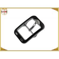 China Personalized Middle Pin Metal Center Bar Belt Buckles , Silver Belt Buckles wholesale