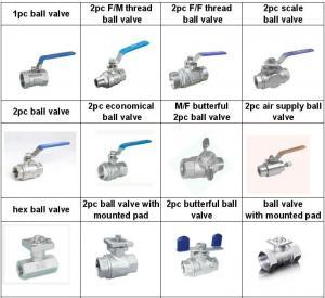 China Valvulas de acero inoxidable /Nroma  3A/DIN/SMS/IDF/RJT /Material 304 y 316/Superficie espejo brillante wholesale