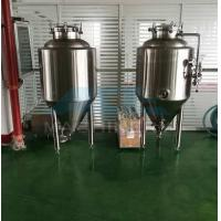 Quality 800L olive oil/palm oil/raw milk storage tank stainless steel beer wine tank  2500l 304 Ss Beer Brite Bright Tank(ce) for sale